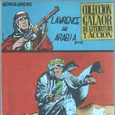 Tebeos: LAWRENCE DE ARABIA Nº 13 ORIGINAL, EDI. GALAOR 1965 - DIBUJOS LOPEZ ESPI - 23,5 X 16,7 CMS. Lote 46131661