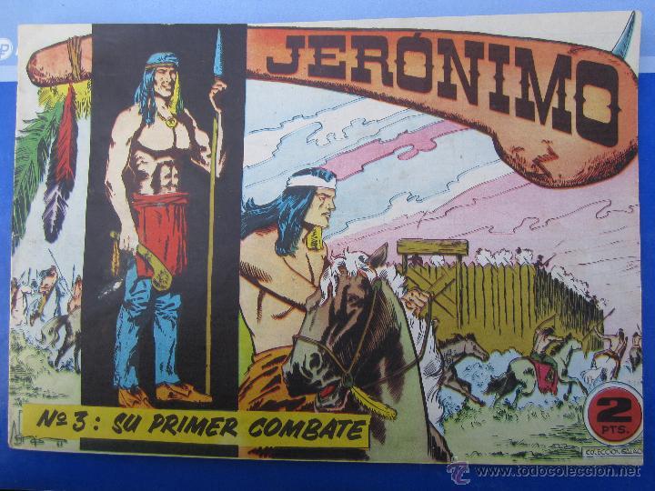 JERONIMO N. 3 ORIGINAL , EDICIONES GALAOR , (Tebeos y Comics - Galaor)