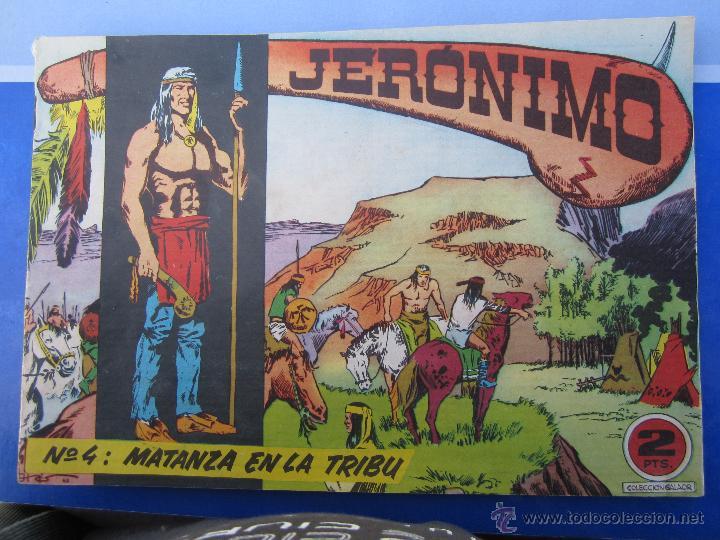 JERONIMO N. 4 ORIGINAL , EDICIONES GALAOR , (Tebeos y Comics - Galaor)