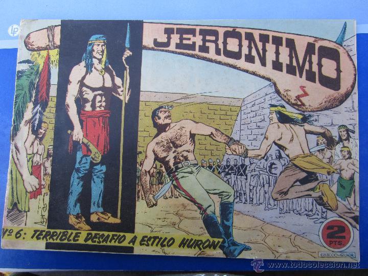 JERONIMO N. 6 ORIGINAL , EDICIONES GALAOR , (Tebeos y Comics - Galaor)