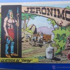 Tebeos: JERONIMO N. 9 ORIGINAL , EDICIONES GALAOR ,. Lote 46178643