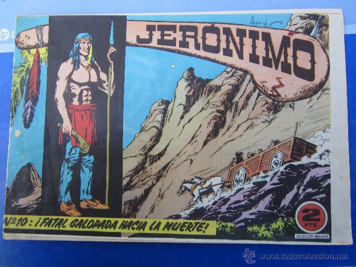 JERONIMO N. 10 ORIGINAL , EDICIONES GALAOR , (Tebeos y Comics - Galaor)