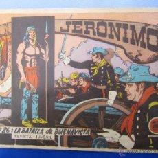 Tebeos: JERONIMO N. 26 ORIGINAL , EDICIONES GALAOR ,. Lote 46178865
