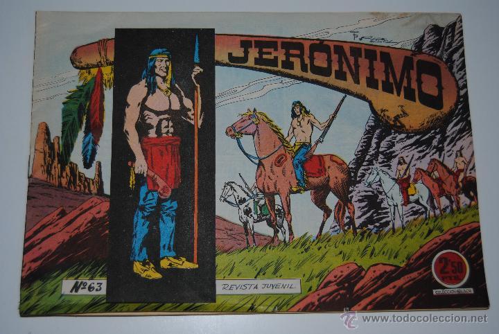 REVISTA JUVENIL JERONIMO Nº 63 (Tebeos y Comics - Galaor)