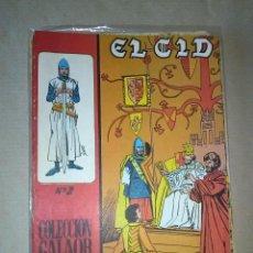 Tebeos: EL CID -GALAOR LOTE DE 7 NºS. Lote 47012460