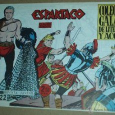 Tebeos: ESPARTACO Nº 22 - ORIGINAL - GALAOR. Lote 48884406
