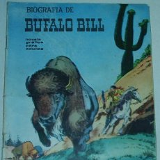 Tebeos: BIOGRAFIA DE BUFALO BILL Nº 4 - GALAOR 1965 - ORIGINAL. Lote 48897835