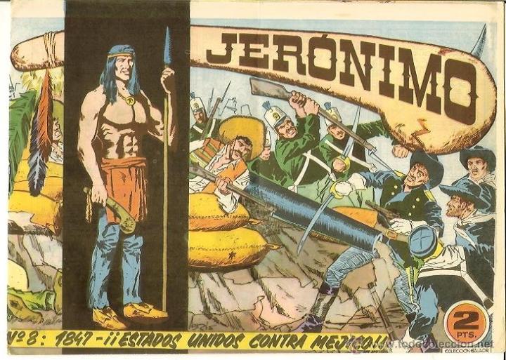JERONIMO Nº 8 (Tebeos y Comics - Galaor)