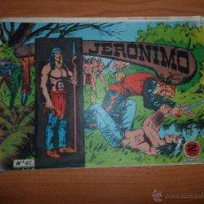 Tebeos: JERONIMO Nº 41 ORIGINAL EDITORIAL GALAOR. Lote 49436546