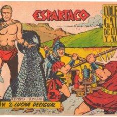 Tebeos: ESPARTACO ORIGINAL Nº 2 EDITORIAL GALAOR 1964. Lote 49900737