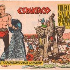 Tebeos: ESPARTACO ORIGINAL Nº 3 EDITORIAL GALAOR 1964. Lote 49900741