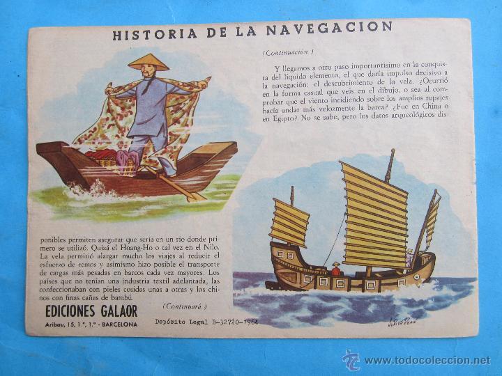 Tebeos: espartaco , numero 7 , coleccion galaor ,original 1964 - Foto 2 - 51080528