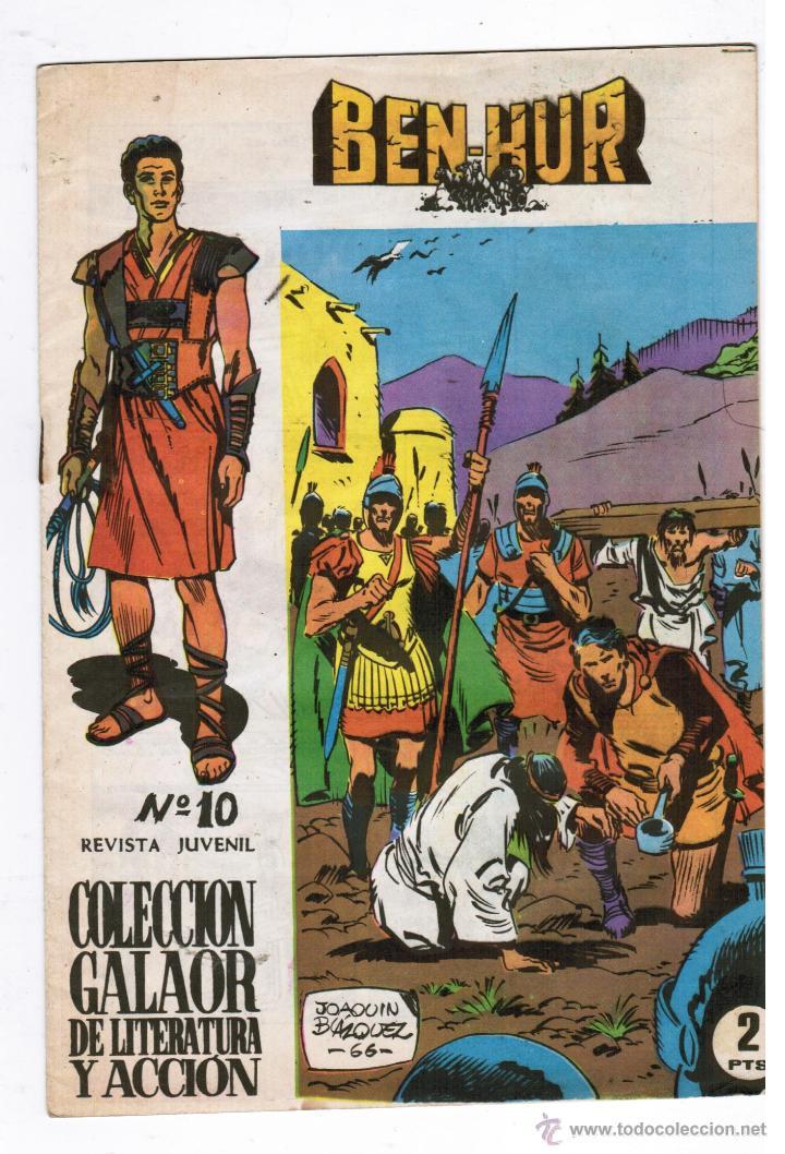 BEN HUR Nº 10 - ( ÚLTIMO NÚMERO ) - EDITORIAL GALAOR 1965 (Tebeos y Comics - Galaor)