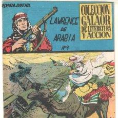 Tebeos: LAWRENCE DE ARABIA ORIGINAL Nº 9 EDI. GALAOR 1965 - . Lote 51635505
