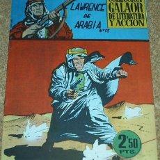Tebeos: LAWRENCE DE ARABIA Nº 13 - ORIGINAL PERFECTO DE GALAOR 1965. Lote 52593084