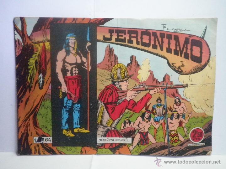 JERONIMO Nº 64 - GALAOR (Tebeos y Comics - Galaor)