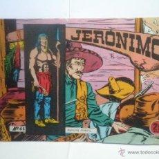 Giornalini: JERONIMO Nº 61 - GALAOR. Lote 52864791