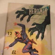 Tebeos: HERO-MAN INEXORABLE, EL ÁGUILA RADIOACTIVA, Nº 12, AÑO 1969. Lote 53171985