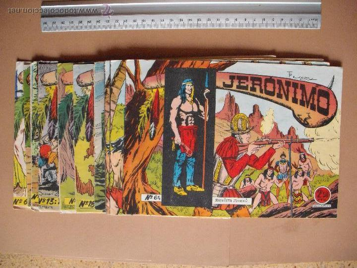 JERONIMO - GALAOR - (12 TBO) (Tebeos y Comics - Galaor)