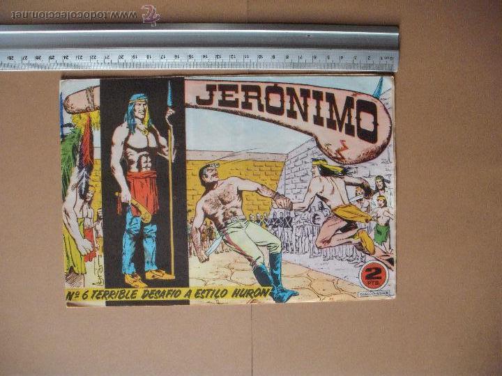 Tebeos: JERONIMO - GALAOR - (12 TBO) - Foto 2 - 53177389
