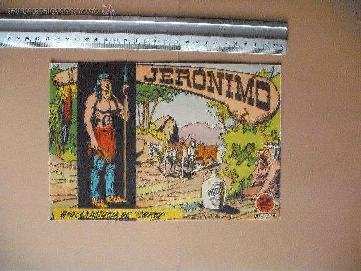 Tebeos: JERONIMO - GALAOR - (12 TBO) - Foto 3 - 53177389