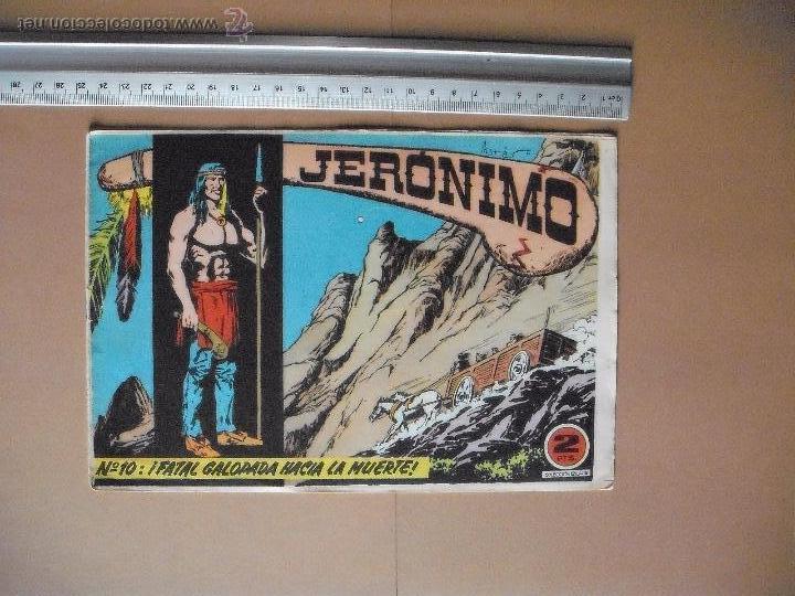Tebeos: JERONIMO - GALAOR - (12 TBO) - Foto 4 - 53177389