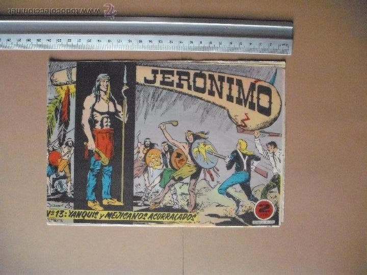 Tebeos: JERONIMO - GALAOR - (12 TBO) - Foto 6 - 53177389