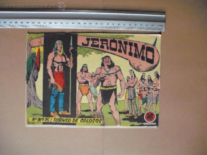 Tebeos: JERONIMO - GALAOR - (12 TBO) - Foto 8 - 53177389