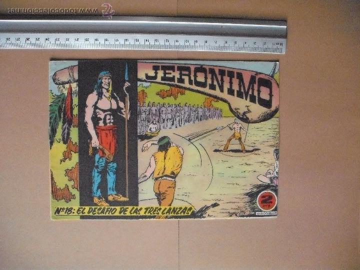 Tebeos: JERONIMO - GALAOR - (12 TBO) - Foto 9 - 53177389