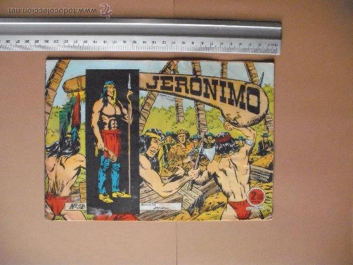 Tebeos: JERONIMO - GALAOR - (12 TBO) - Foto 11 - 53177389