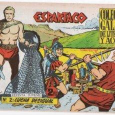 Tebeos: ESPARTACO. GALAOR 1964. LOTE DE 12 EJEMPLARES ENTRE EL 2 Y 26.. Lote 19940853
