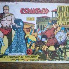 Tebeos: ESPARTACO , COMPLETA DE 26 NºS - ORIGINAL Y SUELTA - GALAOR - GA. Lote 54431642