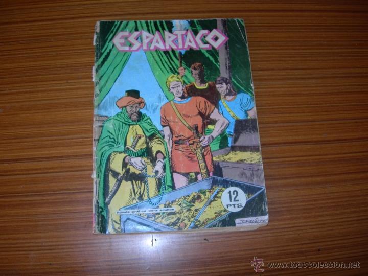 ESPARTACO Nº 5 EDITA GALAOR (Tebeos y Comics - Galaor)