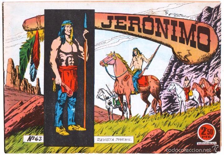 JERONIMO ORIGINAL Nº 63 EDITORIAL GALAOR , EXCELENTE ESTADO (Tebeos y Comics - Galaor)