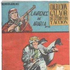 Tebeos: LAWRENCE DE ARABIA ORIGINAL Nº 13 EDI. GALAOR 1965. Lote 56264818