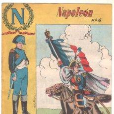 Tebeos: NAPOLEON ORIGINAL Nº 6 EDI. GALAOR 1965. Lote 56264925