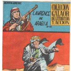 Tebeos: LAWRENCE DE ARABIA ORIGINAL Nº 13 EDI. GALAOR 1965. Lote 56265327
