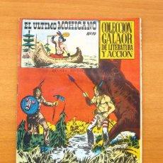 Tebeos: EL ÚLTIMO MOHICANO, Nº 10 - EDITORIAL GALAOR 1965 - ULTIMO DE LA COLECCIÓN. Lote 56891230