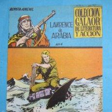 Tebeos: LAWRENCE DE ARABIA , NUMERO 4 , COLECCION GALAOR 1965. Lote 57080168