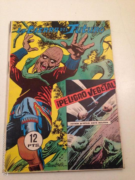 LA TIERRA DEL FUTURO Nº 6 ¡PELIGRO VEGETAL! 1970 GALAOR (Tebeos y Comics - Galaor)