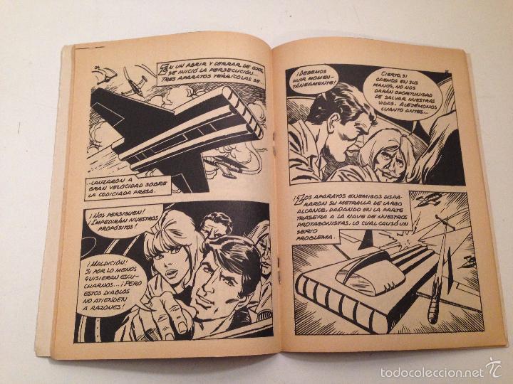 Tebeos: LA TIERRA DEL FUTURO Nº 6 ¡PELIGRO VEGETAL! 1970 GALAOR - Foto 2 - 58779091