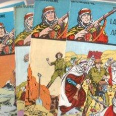 Tebeos: LAWRENCE DE ARABIA ORIGINAL COMPLETA 1 AL 15 EDI. GALAOR 1965 VER TODAS LAS PORTADAS. Lote 63419112