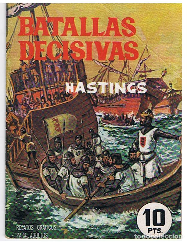 BATALLAS DECISIVAS - HASTINGS (Tebeos y Comics - Galaor)