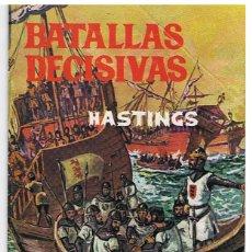 Giornalini: BATALLAS DECISIVAS - HASTINGS. Lote 64173367