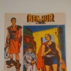 Tebeos: BEN HUR Nº 8. COLECCION LITERATURA Y ACCION. GALAOR 1966. Lote 67720745
