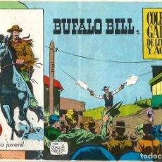 Tebeos: BUFALO BILL Nº 2 - COL. GALAOR DE LITERATURA Y ACCION - GALAOR 1965 ORIGINAL - BIEN CONSERVADO. Lote 68547217