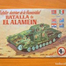 Tebeos: BATALLAS DECISIVAS DE LA HUMANIDAD - BATALLA DE EL ALAMEIN - EDICIONES GALAOR 1964. Lote 72236615