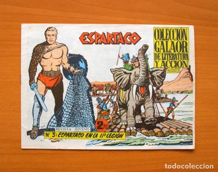 ESPARTACO Nº 3 - EDICIONES GALAOR 1964 (Tebeos y Comics - Galaor)