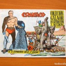 Tebeos: ESPARTACO Nº 3 - EDICIONES GALAOR 1964. Lote 72236795