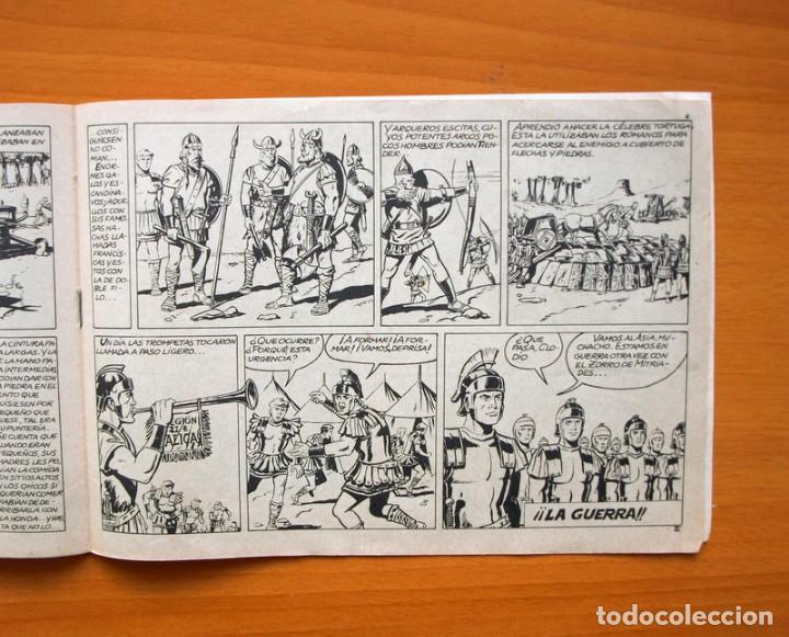 Tebeos: Espartaco nº 3 - Ediciones Galaor 1964 - Foto 3 - 72236795